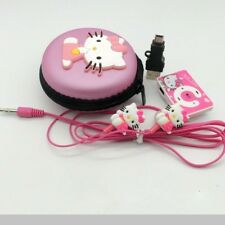 New Hello Kitty MP3 player Girls Pink Mini Clip Music Player  UK Seller