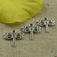Free Ship 356 pieces tibetan silver dragonfly charms 15x14mm #4529
