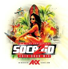 SOCA 2 GO 2015 MIX CD