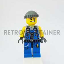 LEGO Minifigures - 1x pm012 - Engineer (Cap) - Power Miners Omino Minifig 8707