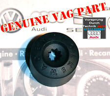 VW Golf Polo EOS Passat Wheel Bolt Lug Plastic Cap / Cover in Black