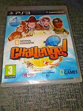 National Geographic Challenge! PlayStation 3/Ps3 Game New-USA Separate Platinum+