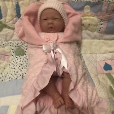 Rare Soft Bodied Berenguer Baby Girl Doll Exceptional Condition Played With Ince