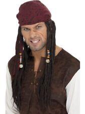 Peluca de Pirata Jack PIRATA PIRATAS Gorrión Peluca