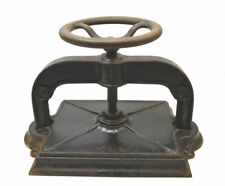 Vintage Antique Standard Cast-Iron #4 Book & Paper Press Bookbinder Binding