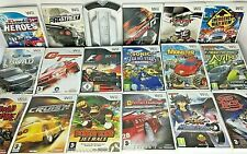 Wii - Driving games - Need for Speed/F1 etc some with Wheels *Choose a Game*