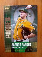 2013 Topps Jarrod Parker #CD-21 Oakland Athletics Chasing the Dream
