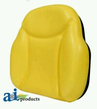 Big Boy Seat Replacement Back Cushion For Several John Deere Tractors, Yellow