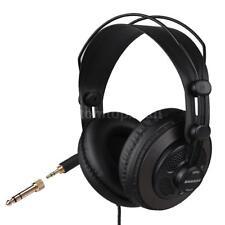 Durable SAMSON SR850 Professional Monitor Headphones Semi-Open Design Black X4F3