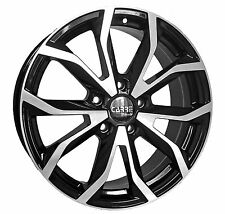 "16"" AUDI A3 ALLOY WHEELS BLACK POLISHED 5 STUD 5x112 (2003>Onwards)"