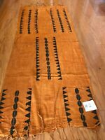 African hand made mud cloth scarf shawl (G2)