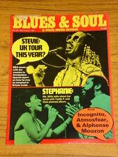 BLUES AND SOUL MUSIC MAG #330 1981 STEVIE WONDER DISCO