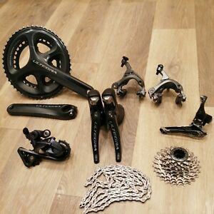 Full Shimano Ultegra 6800 11spd Groupset 170cranks.50/34. 11-25.TOP CONDITION!
