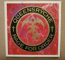 "QUEENSRŸCHE- ""RAGE FOR THE ORDER"" LP EMI CANADA 1986 -  SIGNED BY BAND"