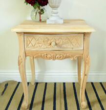 Mahogany French Country Bedside Tables & Cabinets
