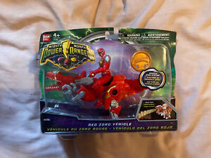 Power Rangers Mighty Morphin 2010 Red Zord Vehicle