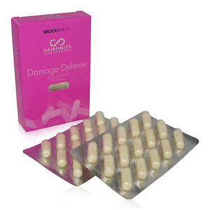 HAIRFINITY DAMAGE DEFENSE COLLAGEN BOOSTER 30 COUNT ~ EXPIRE 09/2021