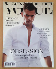 VOGUE Hommes International,Sean O'Pry,Sam Webb,Clement Chabernaud,Bruce Weber