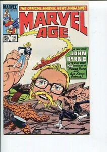 MARVEL AGE 14 NM-MT FF #1 COVER HOMAGE BYRNE 1984