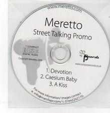 (BK669) Meretto, Street Talking - DJ CD