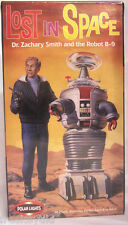 Lost in Space Movie Dr Zachary Smith + Robot B-9 Polar Lights Plastic Model Kit