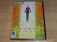 Advent Rising - New & Sealed - rare PC DVD ROM game