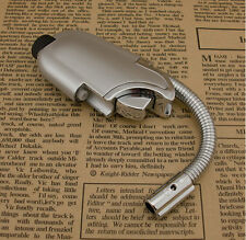 1PC  Flexible pipe butane lighter jet torch flame windproof cigarette lighter