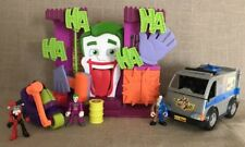 Lot Of Imaginext Joker Funhouse Two Face