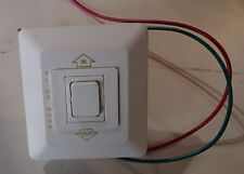 SIGMA SLIDE IN/OUT ROOM SWITCH W/ ALL WIRING MOMENTARY PARCHMENT 20A 125V