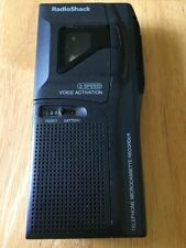 Radio Shack 43-476 Telephone Microcassette Vor Recorder For Parts/repair only