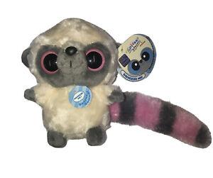 Aurora Yoohoo & Friends Plush Toy Lemur Pink Yoohoo w/ Sound - NWT