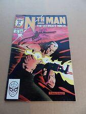 Nth Man the Ultimate Ninja 1 . Marvel 1989 -   FN +