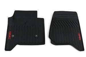 Black Cargo Mat OEM GM 2015-2018 GMC Yukon XL Complete Premium All Weather Floor Mat Pkg Dune