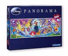 Disney Family 1000 pièces Puzzle pour Enfants Panorama Puzzle Clementoni