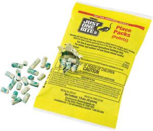 Just One Bite II Pellet Packs --4Packs--- 1.5 oz packs Rat & Mouse Poison