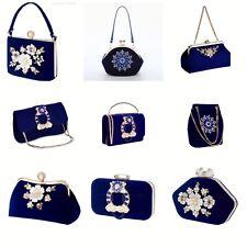 Evening Bag for Women Crossbody Shoulder Clutch Bag Suede Envelope Evening Purse