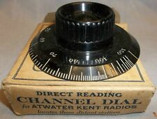 Direct Reading Station Knob for Atwater Kent Radios