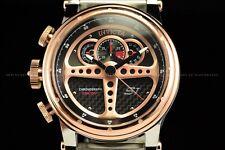 Invicta 48mm S1 Rally Behind the Wheel Dashboard on ur Wrist Rose Gold TT Watch