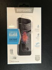 BodyGuardz Pure Tempered Glass Screen Protector For iPhone 5/5s/SE