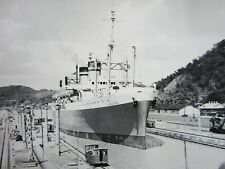 Usat General Hugh J. Gaffey Photo Panama Canal Pedro Miguel Locks 1946-50