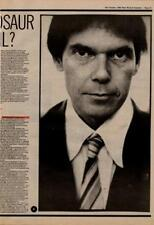 Neil Young Interview NME Cutting 1982