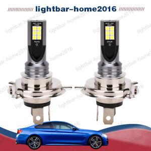 2x H4 9003 LED Voiture de Phare CSP Ampoule Feux 6000K Blanc 30000LM 110W