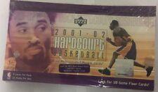 2001-02 Upper Deck Hardcourt Factory Sealed Basketball Hobby Box