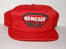 Vintage SnapBack Trucker Hat  GENESEE BEER