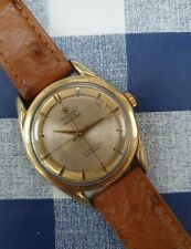 Universal Geneve Polerouter MICROTOR 215 movimento gold capped Orologio Vintage 1958