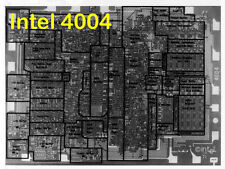 1975 Microprocessors Intel 4004 SC/MP Fairchild F8 Rockwell RCA 1802 PACE IMP-16