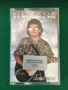 George Harrison - Cloud 9 -  Cassette Album, Elton John, Eric Clapton, Jeff Lynn