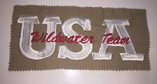 Wildwater Team Usa Patch Kayak River Charlotte