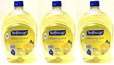 3 BOTTLES SOFTSOAP LIQUID HAND SOAP REFILL REFRESHING CITRUS 50 OZ NEW