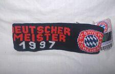 FC Bayern München Dt. Meister 1997 Stirnband Erw.-Größe für Winter ,Neu,Lizenz